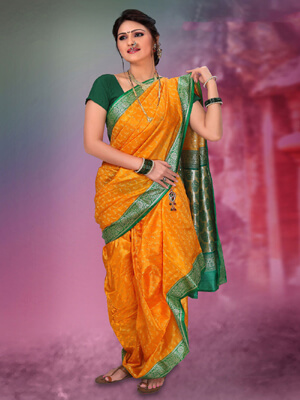 Nauvari Saree Stitching In Pune Readymade Nauvari Saree